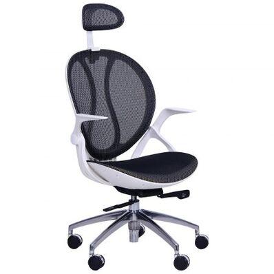 Кресло Lotus пластик белый HR, Synchro
