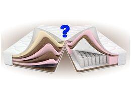 Беспружинный или пружинный матрас — что лучше для спины