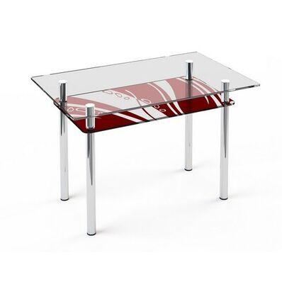 Стеклянный обеденный стол S6