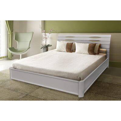 Кровать Мария (белая) - 1,6 (на подъёмной раме)