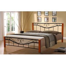 Кровать Миллениум Вуд (черная)