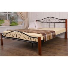 Кровать Респект Вуд (черная)