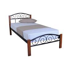 Ліжко Респект Вуд (чорне)