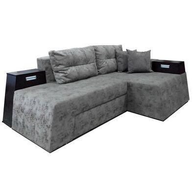 Угловой диван Каскад с поворотным механизмом
