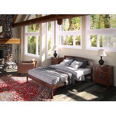 Дерев'яне ліжко Айріс