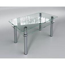 Скляний стіл Кристал