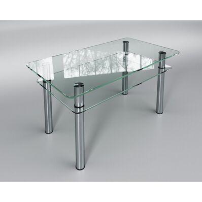 Стеклянный стол Кристалл