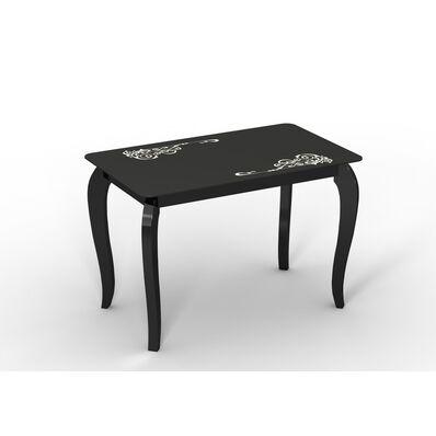 Стеклянный стол Император классик