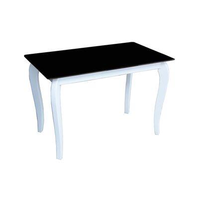 Стеклянный стол Император Контраст