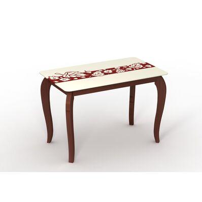 Стеклянный стол Император Ностальжи Рэдвуд
