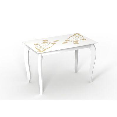 Стеклянный стол Император Суфле