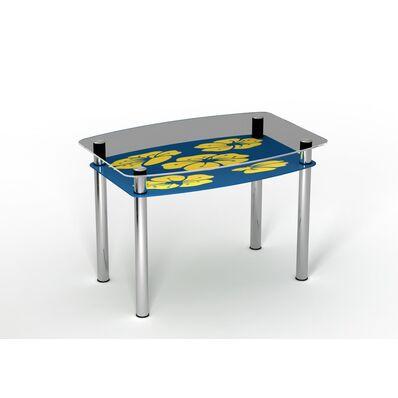 Стеклянный стол Мальва