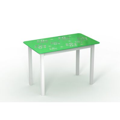 Стеклянный стол Монарх Букет
