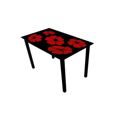 Стеклянный стол Монарх Каркаде