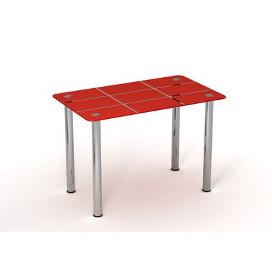Стеклянный стол Рэд таун