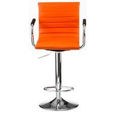 Барний стілець Bar orange plate (E1137)