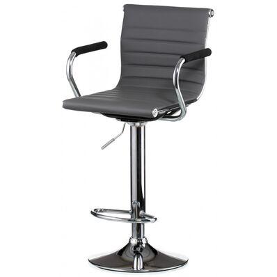 Барный стул Bar grey plate (E4923)
