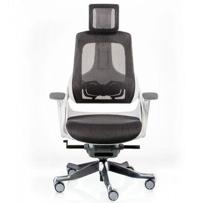 Кресло WAU CHARCOAL NETWORK WHITE