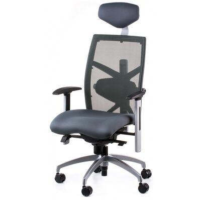Кресло еxact slatеgrey fabric, slatеgrey mеsh