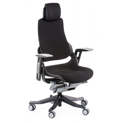 Кресло Wau black fabric
