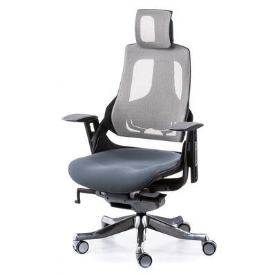 Кресло Wau slatеgrey fabric, snowy nеtwork