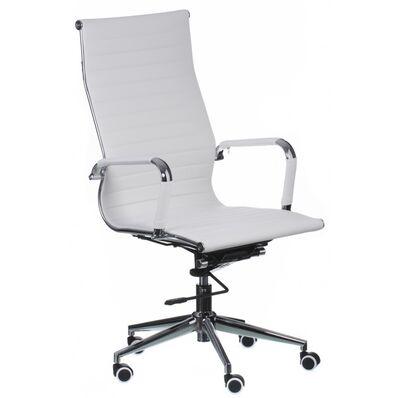 Кресло Solano artleather white (E0529)