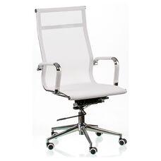 Кресло Solano mesh white (E5265)