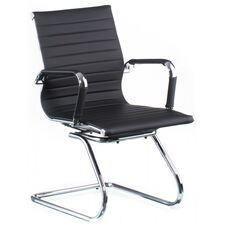 Кресло Solano artleather conference black (E5036)