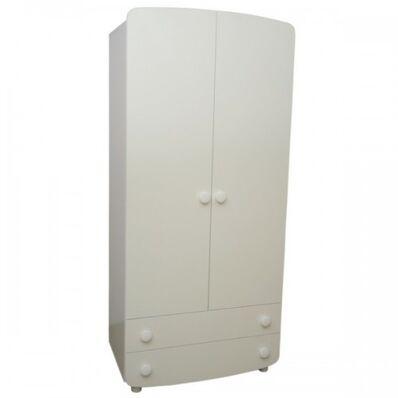 Шкаф №1 ДСП белый