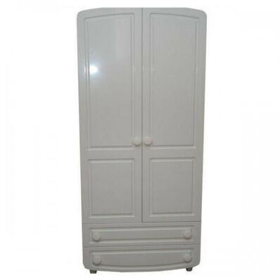 Шкаф №1 МДФ филёнчатый белый