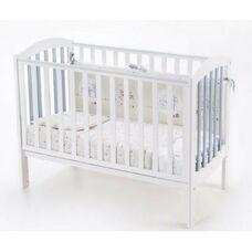 Кровать Соня ЛД10 Эконом бело-серая
