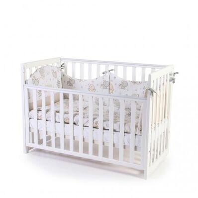 Кровать Соня ЛД13 без ящика белая