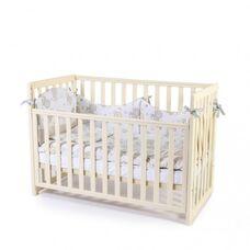 Кровать Соня ЛД13 без ящика слон.кость