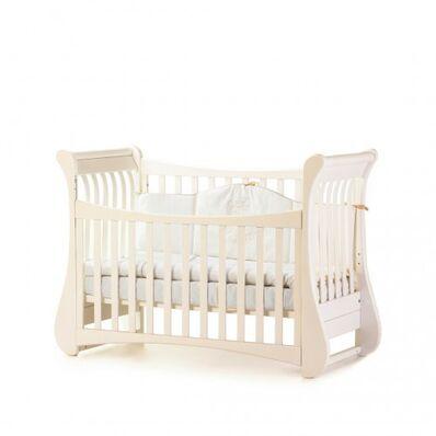 Кровать Соня ЛД20 без ящика слон.кость