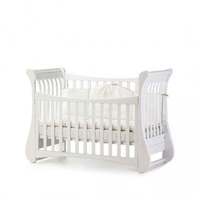 Кровать Соня ЛД20 без ящика белая