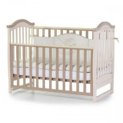 Кровать Соня ЛД3 без ящика капучино