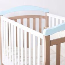 Кровать Соня ЛД6 капучино-голубой