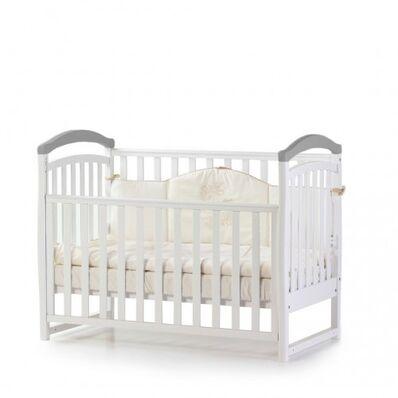 Кровать Соня ЛД6 бело-серая