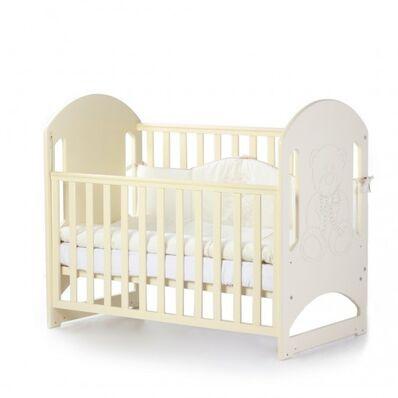 Кровать Соня ЛД8 без ящика слон.кость