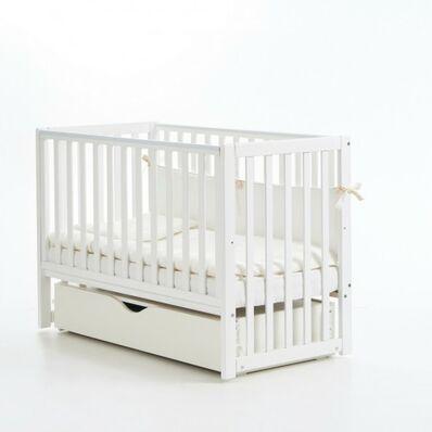 Кровать Соня ЛД13 маятник с ящиком белая