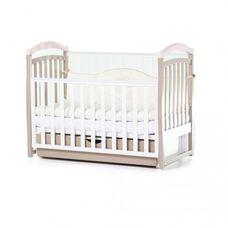 Кровать Соня ЛД6 с ящиком капучино-розовый 06.1.61.1.01