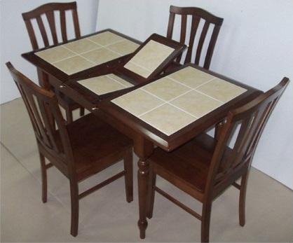 Раскладной стол с плиткой